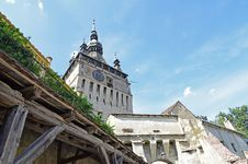Free Tower Sighisoara Royalty Free Stock Images - 26283049