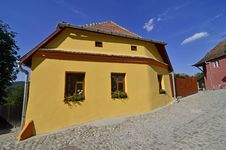 Free Sighisoara Yellow Stock Photography - 26285322