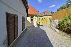 Free Sighisoara Street Rock Royalty Free Stock Photography - 26285367