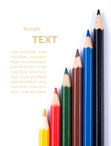 Free Color Pencils Stock Images - 26289034