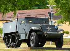 Free Military WWII Half Track Stock Photos - 26291023