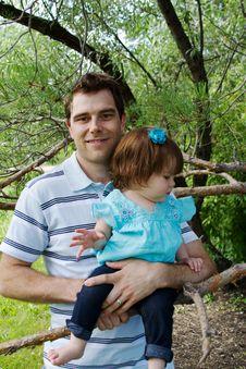 Free Dad Holding Child Royalty Free Stock Image - 26294336