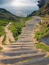 Free Steps To The Sea Royalty Free Stock Photos - 2632338