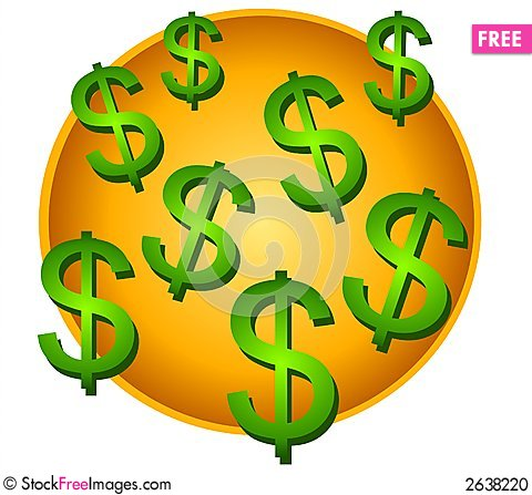 lots of dollar signs clip art free stock images photos 2638220 rh stockfreeimages com free dollar signs clipart dollar sign clip art border