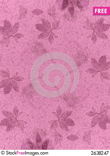 Free Pink Flower Texture Background Royalty Free Stock Photography - 2638247