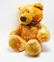 Free A Toy - A Soft Bear Royalty Free Stock Image - 2630676
