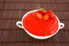 Free Jelly Strawberry Stock Photography - 2631172