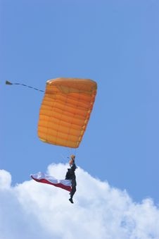 Free Skydiver Stock Photography - 2631302