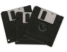 Free Three Floppy Disks Stock Photography - 2631362