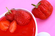 Free Jelly Strawberry Stock Images - 2631364