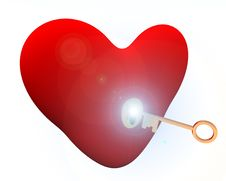 Key To Your Heart 111 Royalty Free Stock Photography
