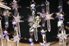 Free Glass Stars-icicles, Cold Ring Stock Photography - 2633392