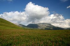 Free Castelluccio /spring Landscape Stock Image - 2633841