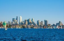 Free Sailing In Seattle Royalty Free Stock Photography - 2633977