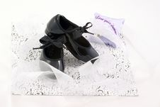 Free Tap Shoes And Ribbons Stock Photo - 2634060