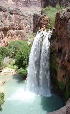 Free Havasu Falls Stock Images - 2634284