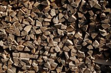 Free Chopped Wood Royalty Free Stock Photos - 2634338