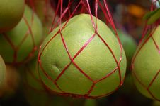 Free Green Pomelo Royalty Free Stock Image - 2636486