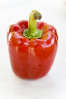 Free Red Pepper Isolated Stock Photography - 2637032