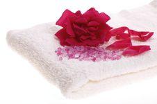 Free Rose Bath Items Stock Photography - 2637242