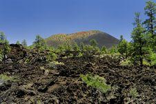 Sunset Crater Volcano Stock Photo