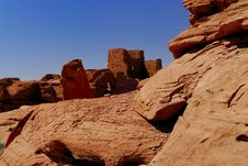 Free Wukoki Indian Pueblo Ruins Stock Photos - 2638093