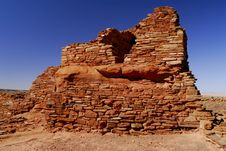 Free Lomaki Indian Pueblo Ruin Wall Stock Photos - 2638143