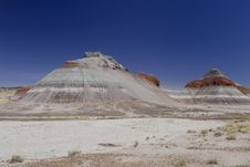 Painted Desert Tepees Stock Photos