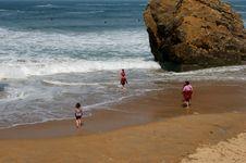 Free Children At Beach Stock Photo - 2638360