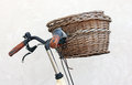 Free Old Bicycle Basket Stock Photography - 26300402