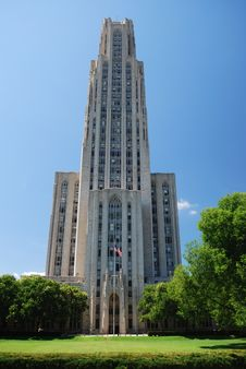 Free Cathedral Of Learning Stock Photography - 26300952