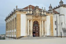 Free View Of The Patio Of The Coimbra University Royalty Free Stock Photo - 26301075