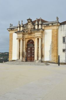 Free View Of The Patio Of The Coimbra University Royalty Free Stock Photos - 26301128