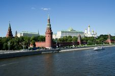 Free Kremlin In Moscow, Russia Royalty Free Stock Photography - 26301807
