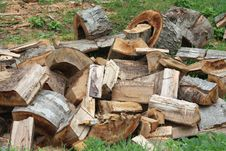 Free Pile Of Scrap Wood Royalty Free Stock Photo - 26303765