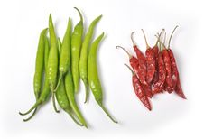 Free Chillies Royalty Free Stock Image - 26304166