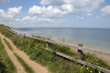 Free Coastal Path At Sheringham Stock Photos - 26306083