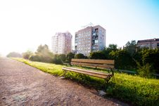 Free Wooden Bench Stock Photography - 26306422
