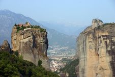 Free Meteora, Greece Royalty Free Stock Photo - 26306615