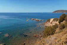 Elba Sea Royalty Free Stock Photography