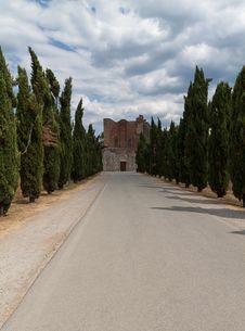 Free San Galgano Abbey Tuscany, Italy Royalty Free Stock Photography - 26307157