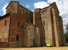 Free San Galgano Abbey Tuscany, Italy Royalty Free Stock Photos - 26307218