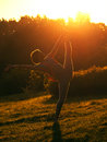 Free Morning Exercises Royalty Free Stock Photo - 26314095