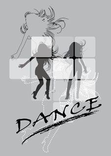 Free Dancing Womans Stock Image - 26312021