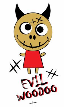 Free Evil Woodoo Stock Photo - 26312050