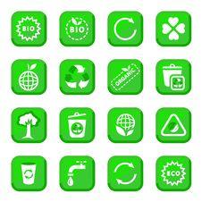 Free Environmental Icon Set Royalty Free Stock Photo - 26313835