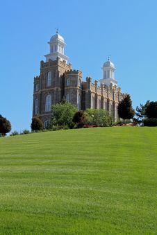 Logan Utah Mormon Temple Stock Images