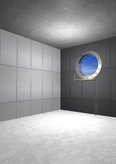 Empty Safe Royalty Free Stock Image