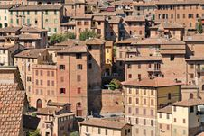 Free Siena - Tuscany Houses, Italy Stock Photos - 26325433
