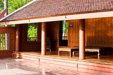 Free Thai Houses Royalty Free Stock Photo - 26328965